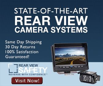 REAR VIEW SAFETY , is your source for commercial truck, trailer, and RV backup camera systems — we even do boats! Celebrate Mother's Day With 10% Off and Free Shipping!