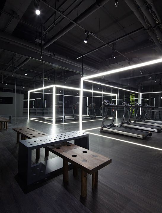 Gimnasio futurista fitness concept pinterest bachelor for Gimnasio 9 y 57