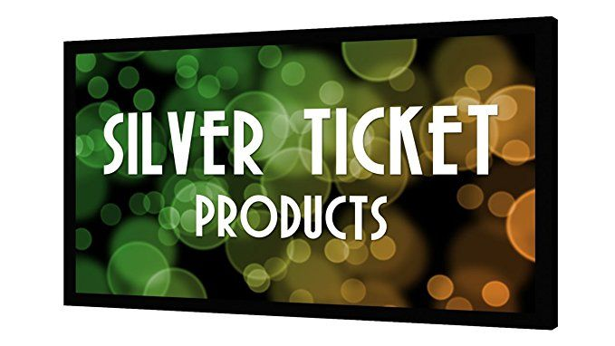 Str 169120 Silver Ticket 120 Diagonal 16 9 4k Ultra Hd Ready Hdtv 6 Piece Fixed Frame Projector Screen White Material With Images Best Projector Screen
