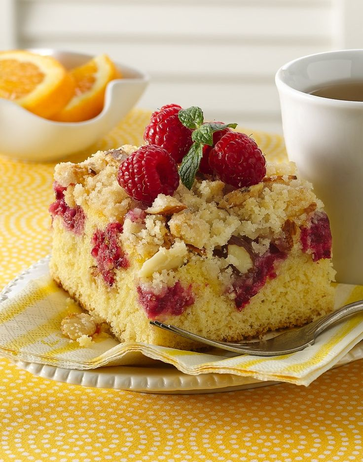 Fresh Raspberry Coffee Cake Betty Crocker