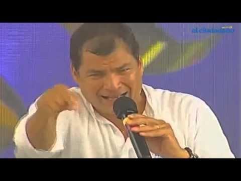 El presidente Rafael Correa arremete contra derechos trans y culpa a fem...