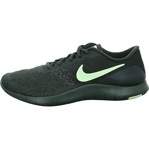 5dfcde38c8bf Chic NIKE Nike Men s Flex Contact Running Shoes (Sequoia Barely Volt-Cargo  Khaki