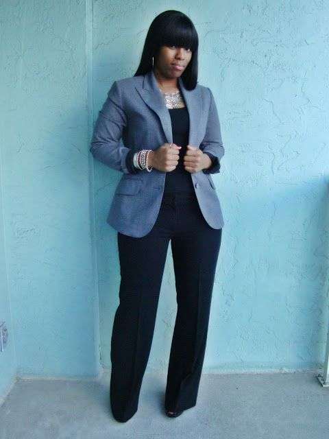 Curves and Confidence | Inspiring Curvy Fashionistas One Outfit At A Time: Grey and Gloomy