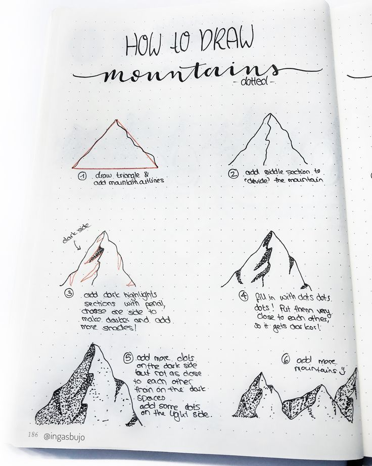 Learn how to draw mountains and pine trees with my step-by-step tutorial. Mounta