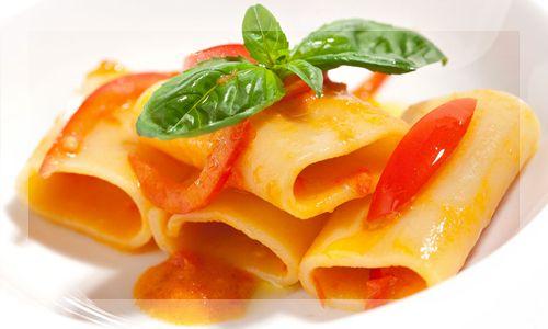 Paccheri Tomato and Basil - Original Food Italy