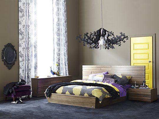 Ledge Bed Frame (Standard Foot): Queen Bed Frame (Standard Foot)