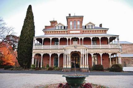 Ghostly grandeur ... the elegant Duntryleague Guesthouse, Orange NSW