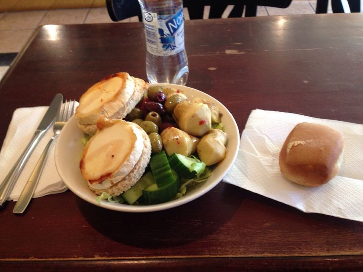 "This is what I had the ""chance"" to eat in Cafè Esplanad in Helsinki, Finland"