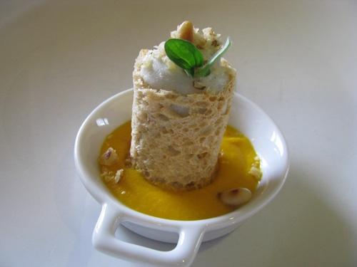 ...Cannoncini croccanti di pane ( da Pasticceria Salata di Luca Montersino)