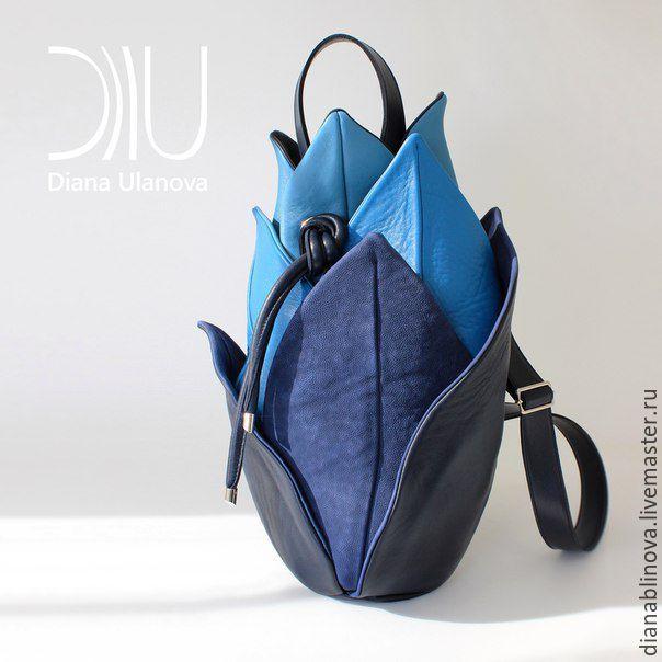 Leather bag / Купить в наличии Лотос - комбинированный, однотонный, сумка кожаная, сумка из натуральной кожи
