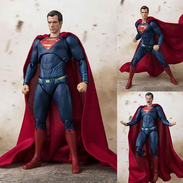 S.H.Figuarts Superman from Justice League DC Comics [PRE-ORDER]  $119 AUD (FREE standard parcel post to anywhere in Australia) Expected release date: Late August 2018  #shfiguarts #superman #justiceleague #dccomics #bandai #figurecentral