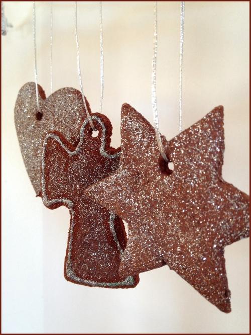 Christmas decorations - Cinnamon clay