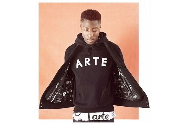 sweater #arternative - jacket #arternative available at www.selectiveantwerp.be