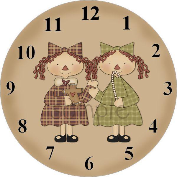 printable clock faces wraps