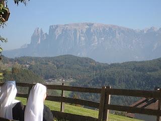 Blick auf dem Schlern Ritten / Südtirol