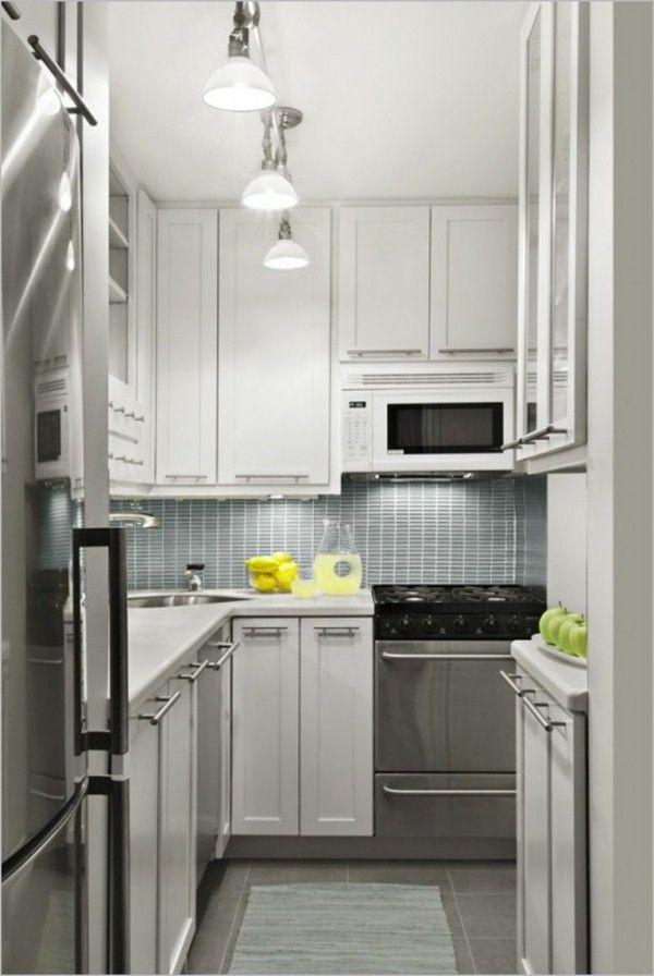 Smallspace Set Up Modern Small Kitchen
