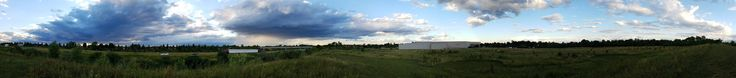 Took a panorama on a hill while disc golfing yesterday. Plymouth MI. [99661058]