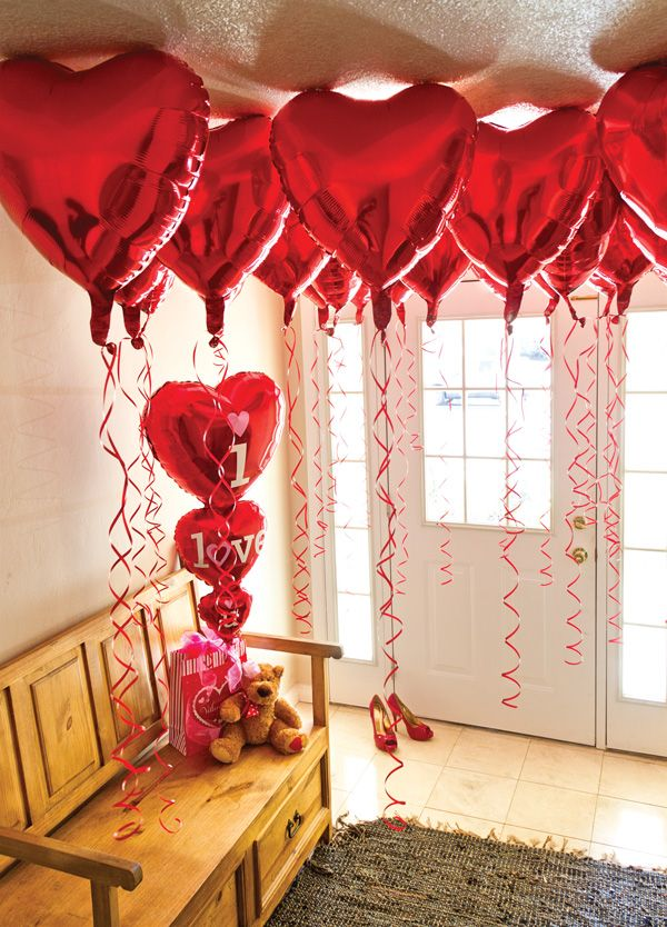 #valentine balloons from #AnagramBalloons