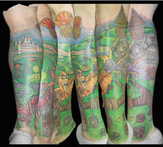 1000 images about game spyro the dragon on pinterest for Crash bandicoot tattoo