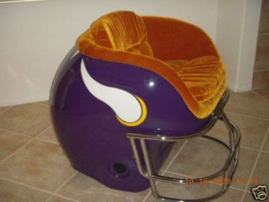 Captivating Amazing Minnesota Vikings Chair!   I WANT THIS......NO