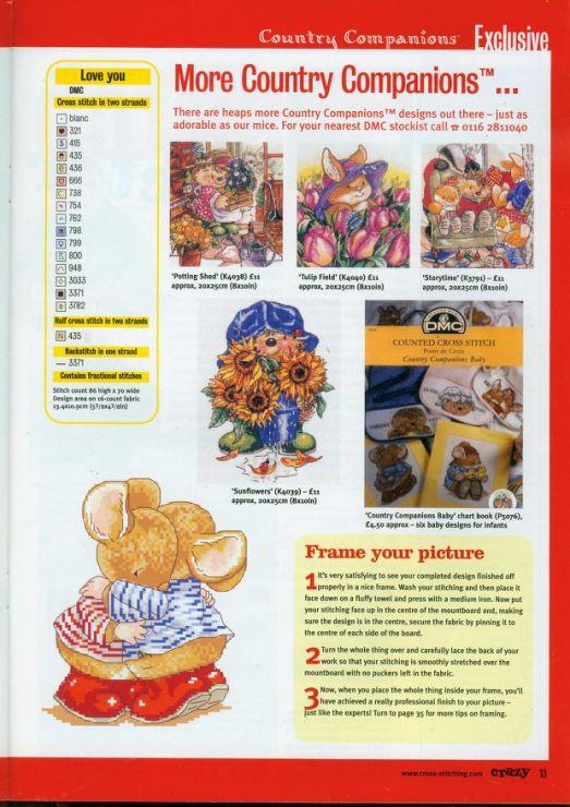 Gallery.ru / Foto # 13 - Cross Stitch Crazy 030 februari 2002 - tymannost
