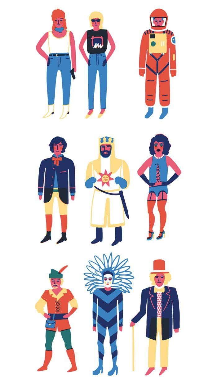 Personal Illustrations - Laura Edelbacher Illustration & Graphic Design