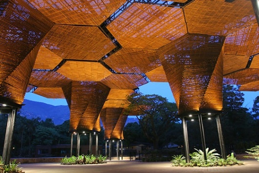 'ORQUIDEORAMA' by Plan B Arquitectos and Camilo Restrepo Arquitectos - A highly functional canopy for the Botanical Garden of Medellin, Colombia