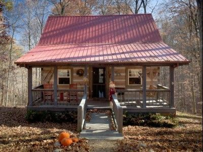 Incroyable Log Vacation Cabins In Beautiful Brown County Indiana