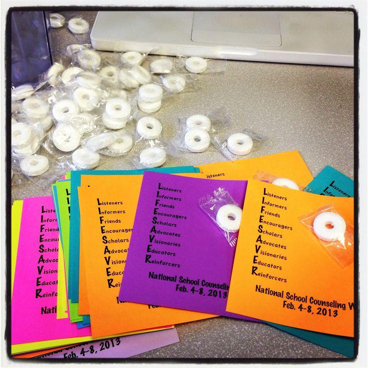 School mailbox fliers for National School Counseling Week