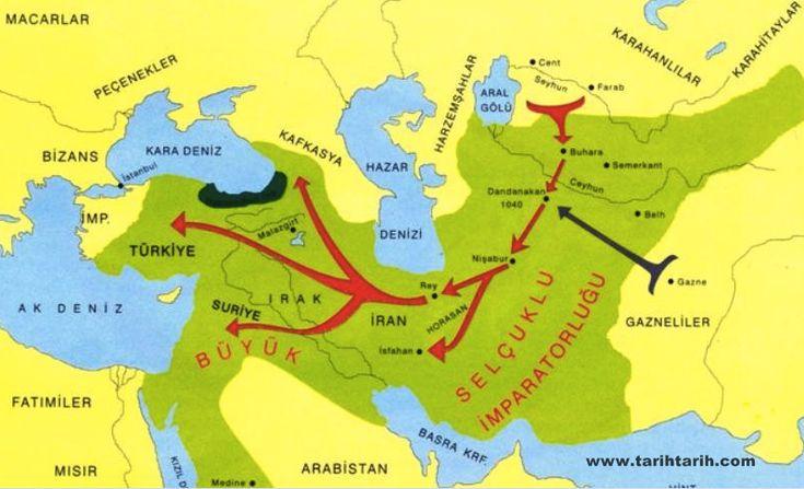 Selçuklular, Ortadoğu'da devletler kurarak 300 yıl boyunca egemen olmuş, Oğuzların Kınık boyundan bir hanedandır. Adı, hanedanın kurucusu Selçuk Bey'den gelir. Göçebe Türklerde bozkırdaki ırmakları geçiş büyük önem arzediyordu. Oğuzname'de yelkeni keşfeden kişi boyun önemli bir atası sayılmaktadır. Selçukluların kurduğu devletlerin ilki, Büyük Selçuklu Devleti'dir. Bu devlet daha sonra Anadolu Selçukluları, Kirman Selçukluları, Horasan Selçukluları,Suriye Selçukluları ve Irak Selçukluları…