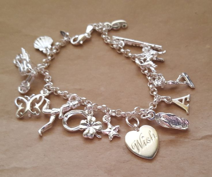 charm bracelets silver or gold