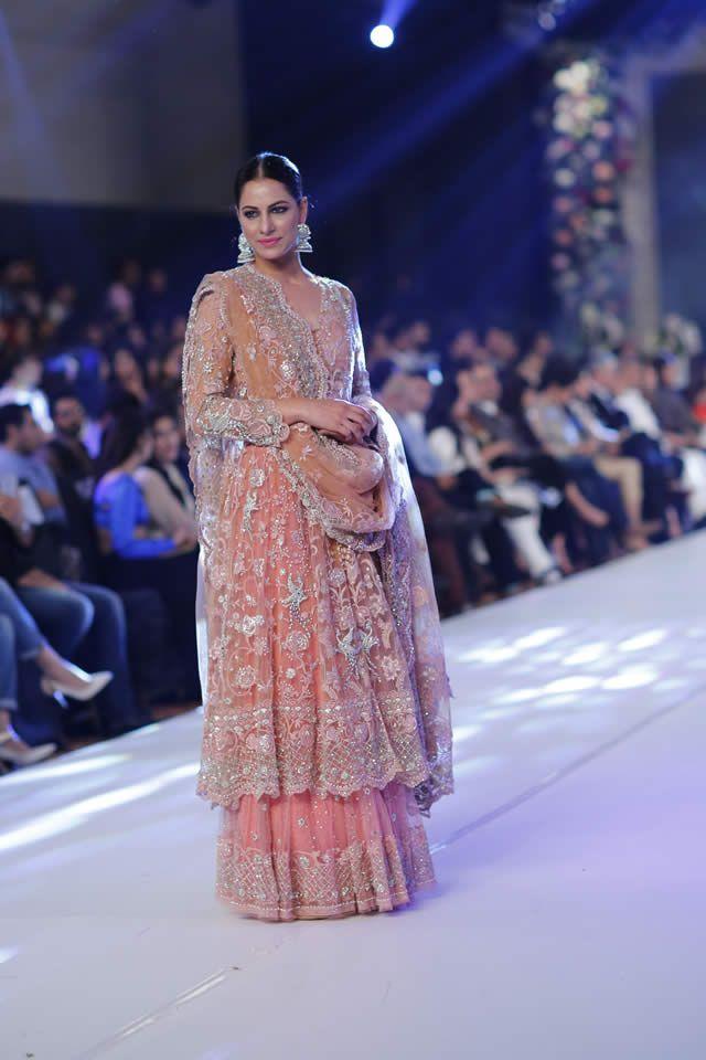 PFDC Loreal Paris Bridal Week 2015 Misha Lakhani Dresses Collection Photo Gallery