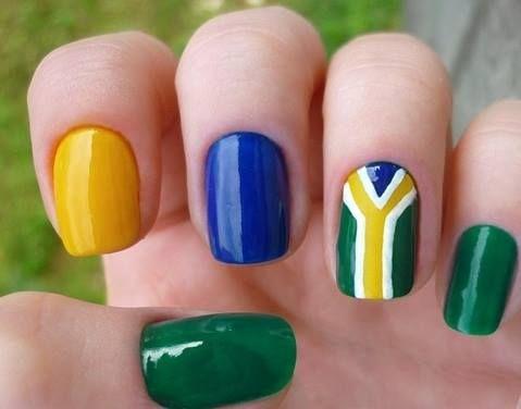 Blog | Walker - Part 2  A Copa do Mundo de Futebol 2014 está chegando, nada melhor do que exercitar o seu lado patriota, começando pelas unhas. Para ser eleita entre os amigos e parentes a torcedora mais bonita e estilosa do pedaço, é preciso estar atenta a todos os detalhes que vão compor seu look copa 2014! Tupo para torcer pelo Brasil com muito charme e animação!!! Inspire-se!!! #WalkerCabeleireiros #Brasil #CopadoMundo2014 #nails #nail #fashion#style #cute #beauty #beautifu