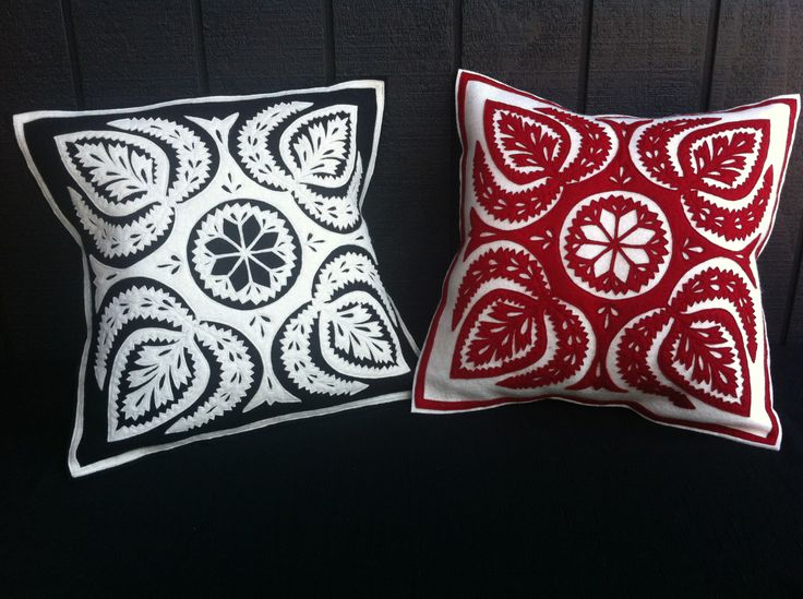 PIROSKA's Four Spades cushions are Hungarian hand cut felt with contrasting colours. Instantly creating the 'wow' factor. www.piroska.com.au
