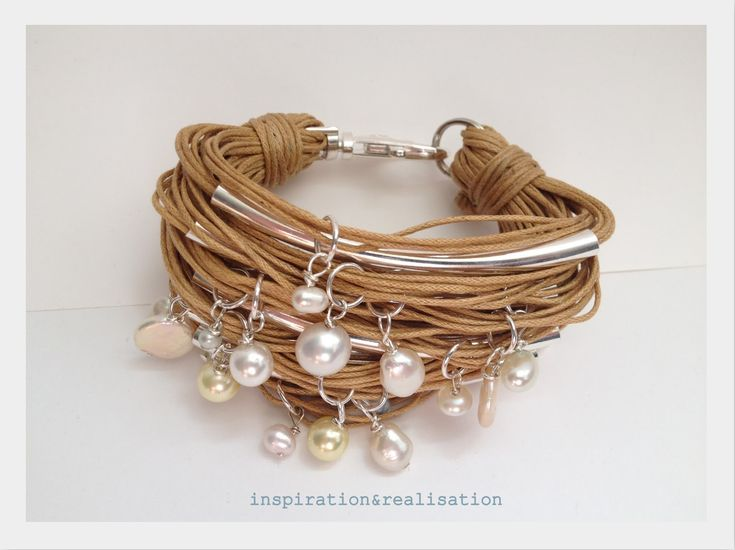 To make: the perfect summer bracelet. Tutorial by inspiration and realisation.