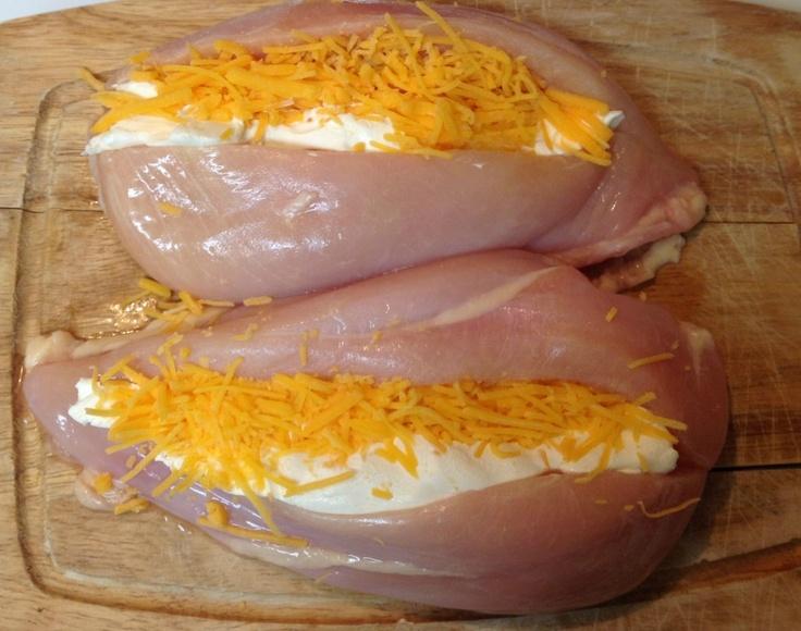 stuffed garlic lemon chicken | Main Dish Recipes - Chicken | Pinterest