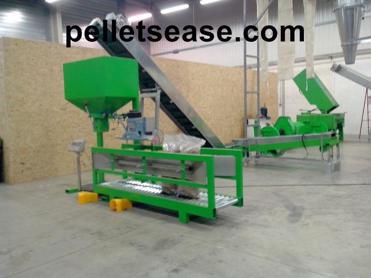 machine à #fabriquer #des #pellets Lignes automatiques de - fabrication presse hydraulique maison