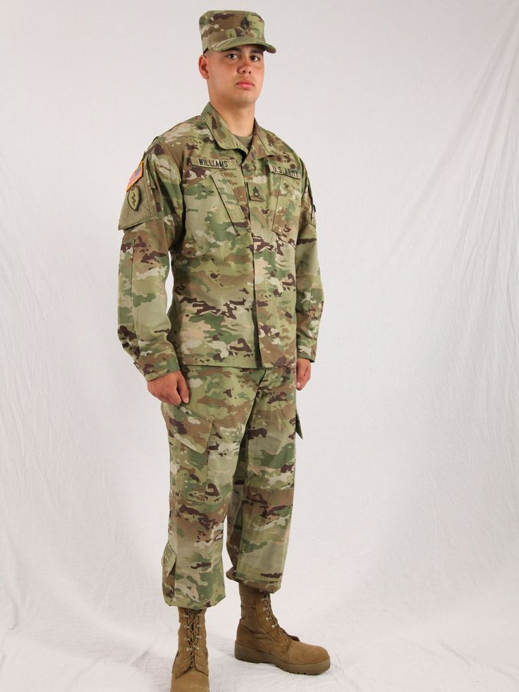 A view of the Army Combat Uniform using the new Operational