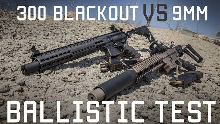 300 BLACKOUT vs 9MM | Ballistic Gel Test | Tactical Rifleman