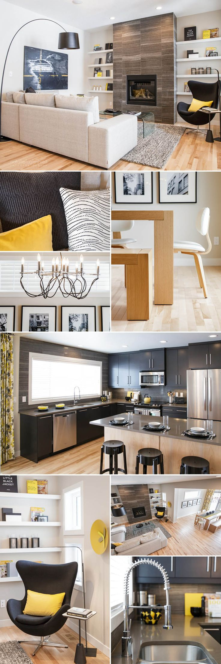 134 best canadian design images on pinterest yellow interior in kitchen calgary camper blondes fireplaces family room castle dining room