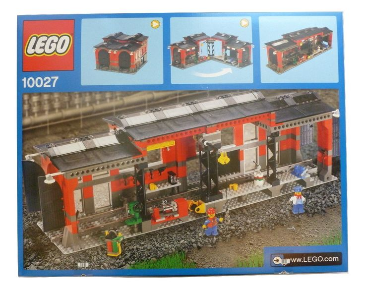 LEGO: City Train Shed