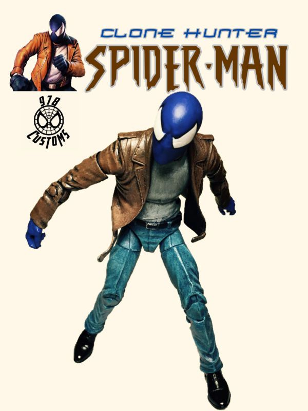 Clone Hunter Spiderman (Marvel Legends) Custom Action Figure [Clone Hunter Spider-Man cover]