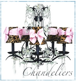 Love this chandelier for JoAnna's room