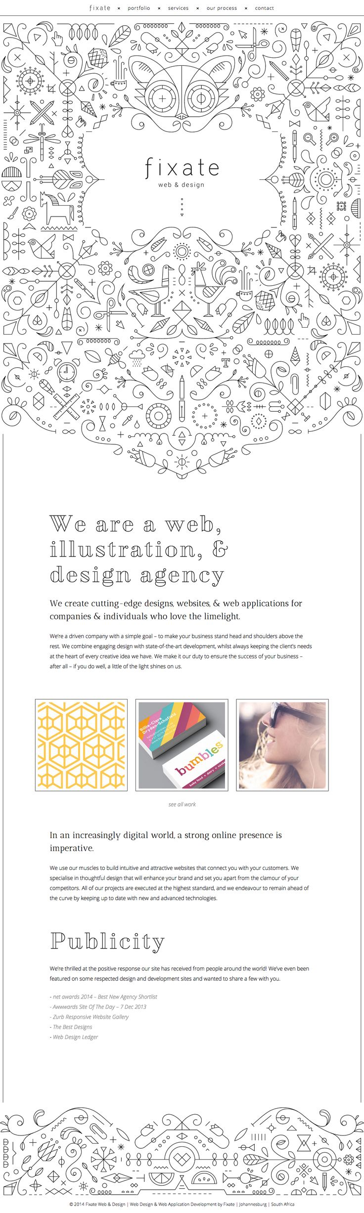 http://fixate.it/ Web Design Agency   Johannesburg   South Africa   Fixate