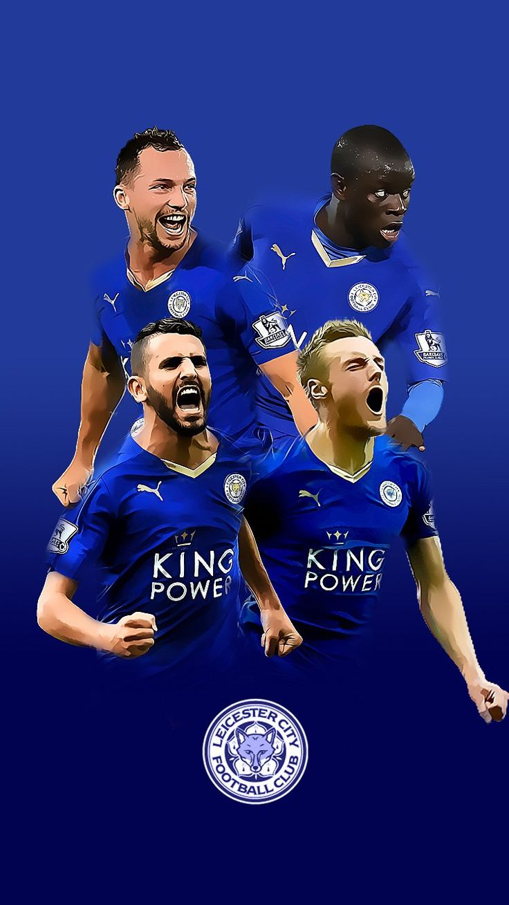 Leicester City iPhone wallpapers. RTs much appreciated #LCFC #FoxesNeverQuit