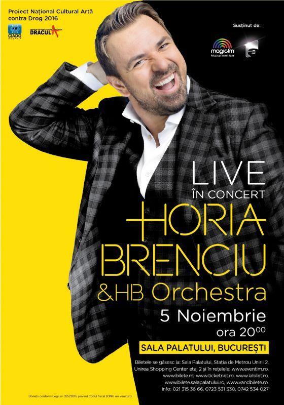 Horia Brenciu & HB Orchestra Live - 05 Nov 2016