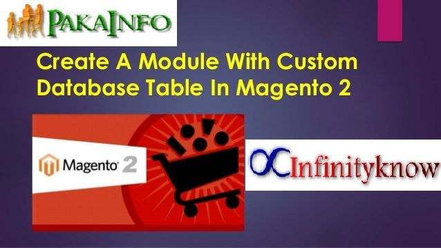 Magento Create custom Database Table with Module by going