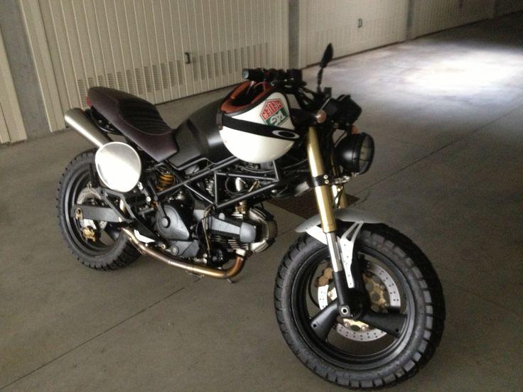 Ducati monster 600 mud special