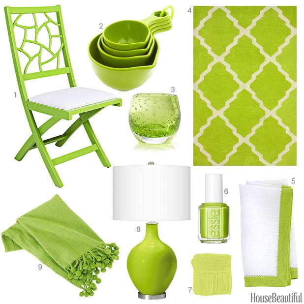 A Rug A Throw Blanket Measuring Cups And More Finds In Bright Lime