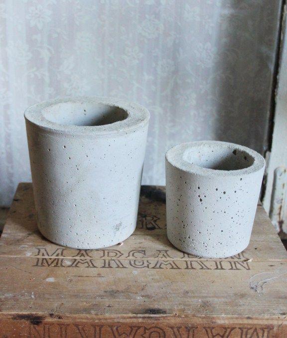Betongkruka. Gjut i betong. DIY. Steg för steg. Pysseldrömmar